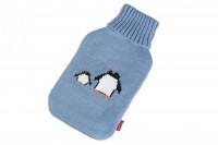 Wärmflaschen Bezug mit Pinguin