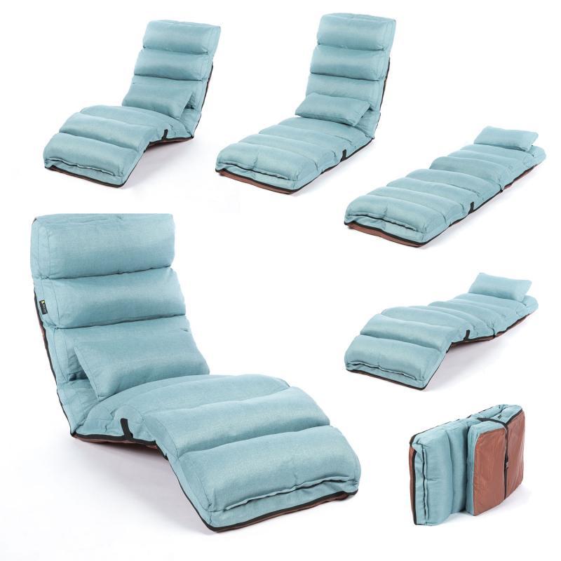 Smoothy Relaxliege - Klappmatratze - Flexibel klappbare Liege