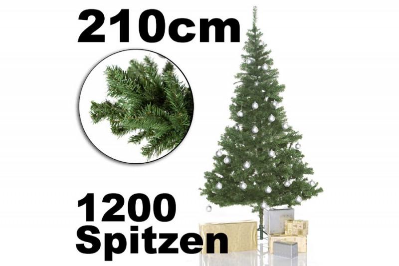 Weihnachtsbaum Unecht Kaufen.Künstlicher Tannenbaum 210cm
