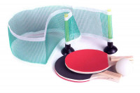 Tischtennis-Set mit 2 Schlägern, Netz und Ball » 24h Versand