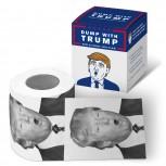 Toilettenpapier - Bedrucktes Klopapier - Trump