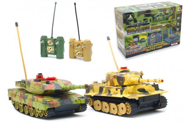 Ferngesteuerte Panzer - RC Infrarot Panzer-Set - Geheimshop.de