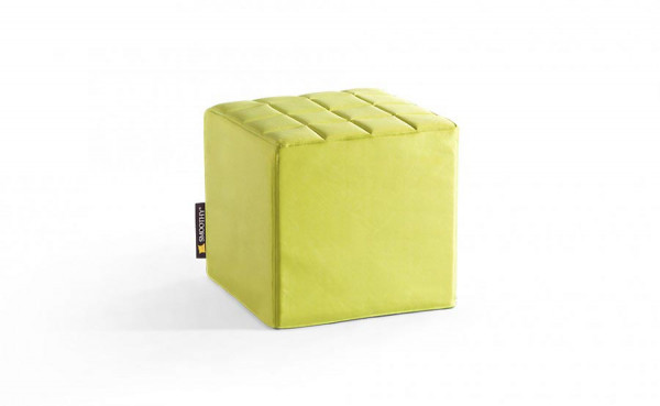 Smoothy Cube Lounge Sitzwürfel Grün