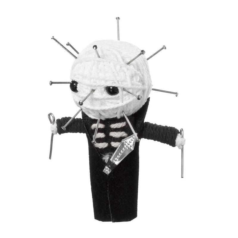 Voomates Pin Skull Voodoopuppe
