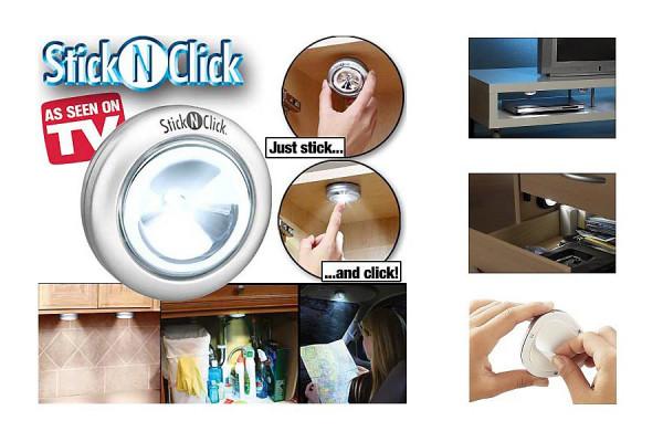Stick & Click LED Lampe – praktisch für Überall