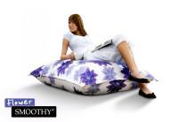 Smoothy ® Flower Sitzsack Damen Sitzkissen Blumen