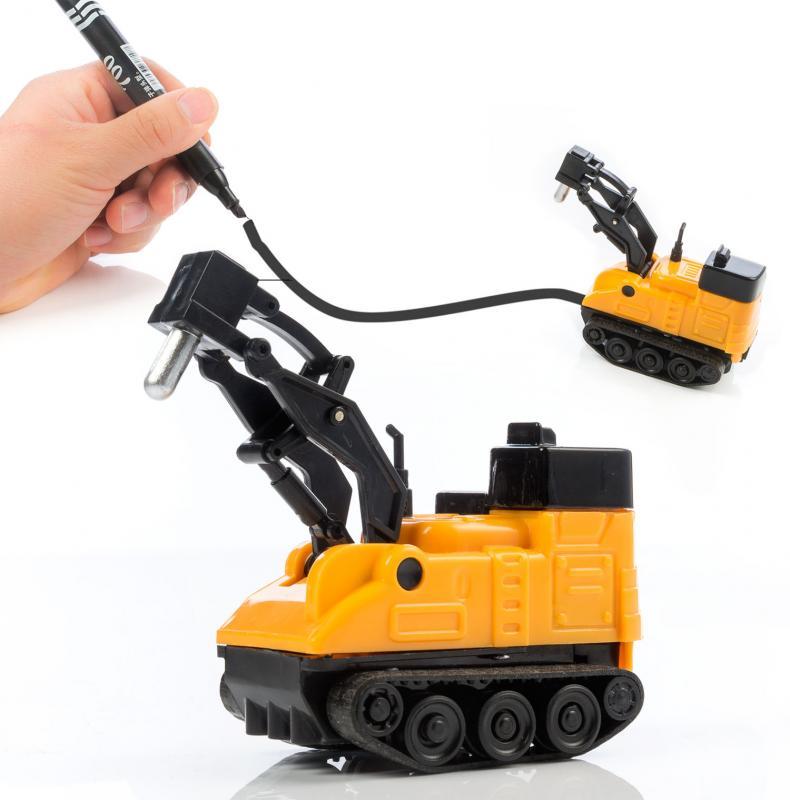 Spurauto Baustellenfahrzeug