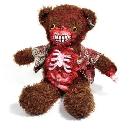 Horror Teddy - Zombie Teddybär aus Plüsch - Gedärme