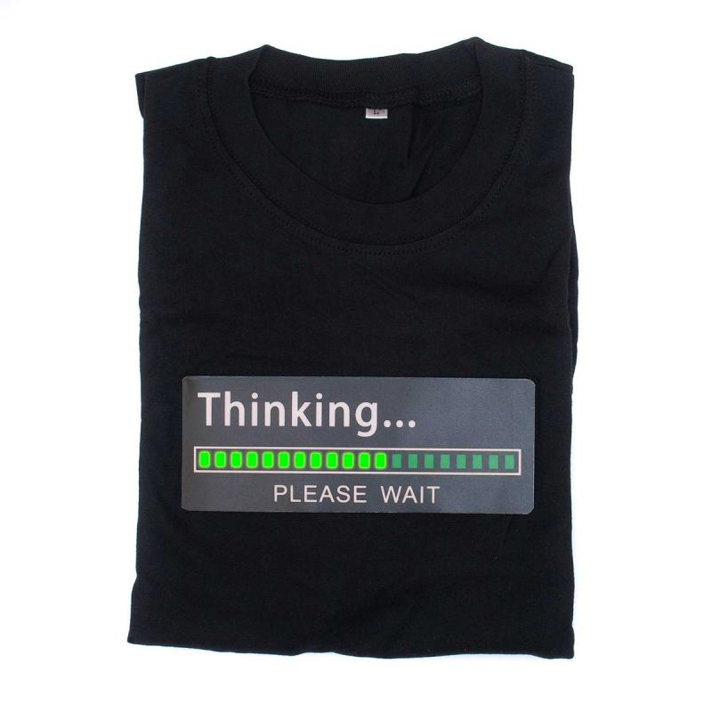 Animiertes T-Shirt Thinking