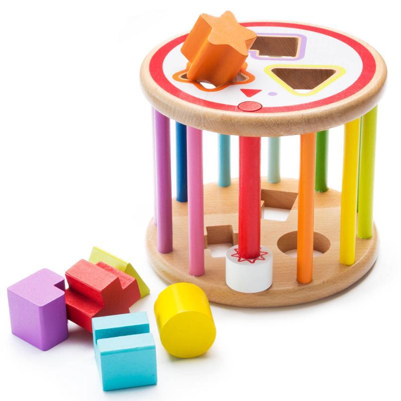 Baby Holzspielzeug Sortierspiel