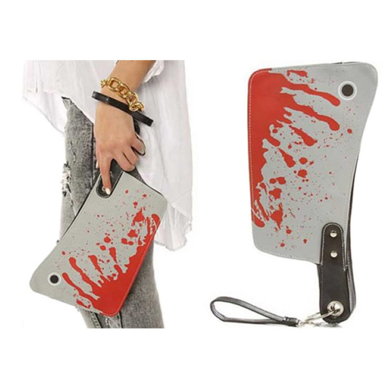 Butchers Clutch Purse Handtasche