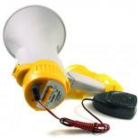 Megafon - 15 Watt Megaphone mit Mikro und Aufnahme-Funktion