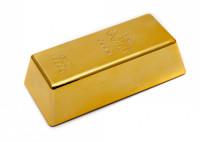 Goldbarren Türstopper Briefbeschwerer – das Luxus Geschenk