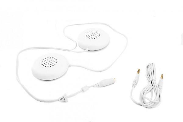 Kopfkissen Lautsprecher: flache Kissen-Kopfhörer