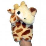 Handpuppe - Handspielpuppe aus Plüsch - Giraffe