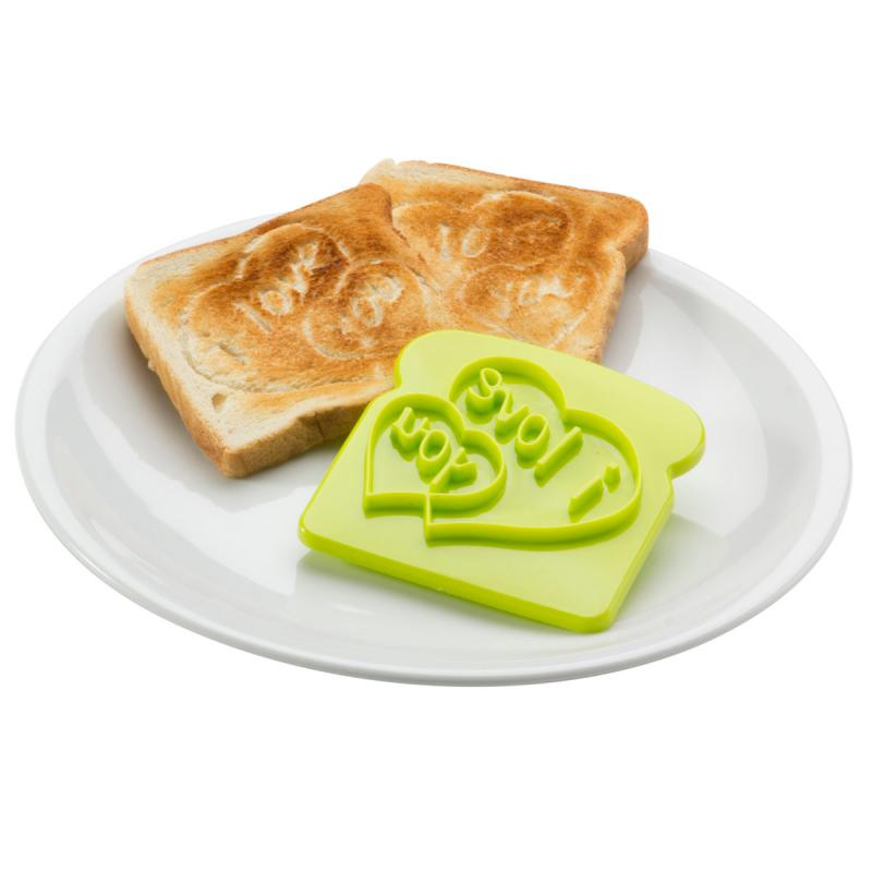 Toaststempel I love you