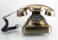 Nostalgie Telefon mit Wählscheibe - Retro 80er Jahre Telefon