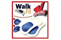 Walk-Fit Einlegesohlen - Orthopädische Einlagen - Geheimshop.de