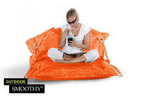 Smoothy Sitzsack Outdoor Supreme in Funky-Orange