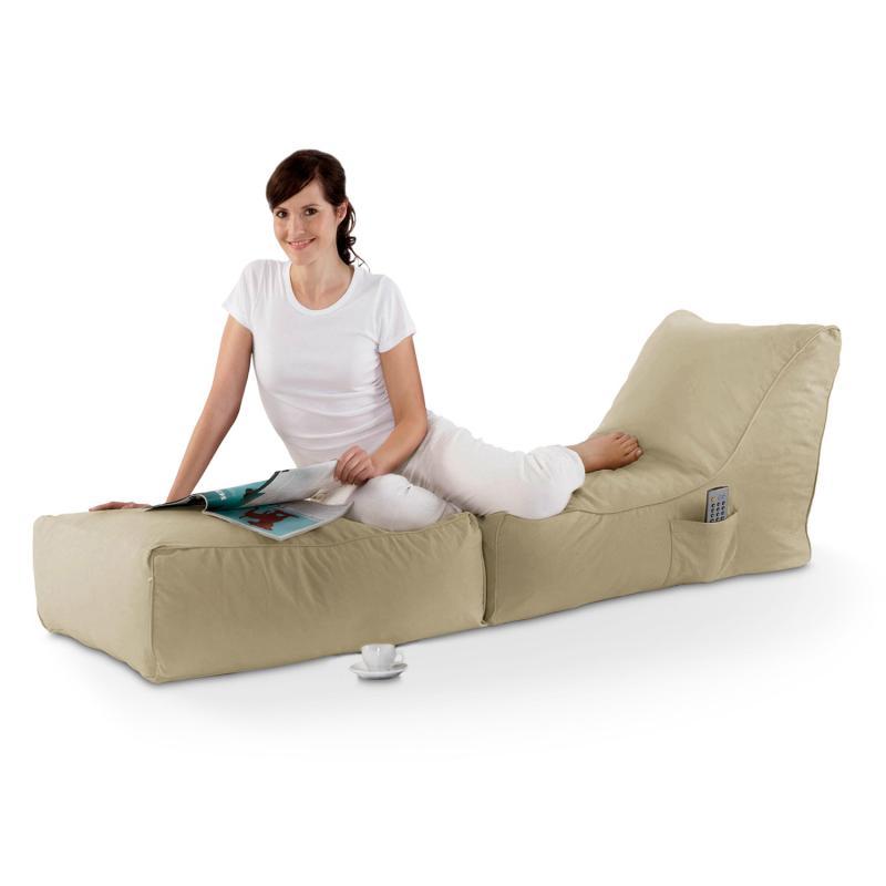 Sitzsack Lounge Folder beige