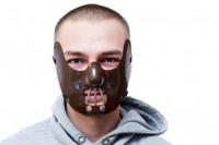 Hannibal Maske - Beißer Horror Maske für Halloween & Karneval