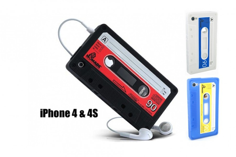 iPhone 4 GS Kassettenhülle Retro Schutzhülle » günstig kaufen!