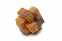 3D Puzzle aus Holz Knoten-Knobelspiel Geduldspiel