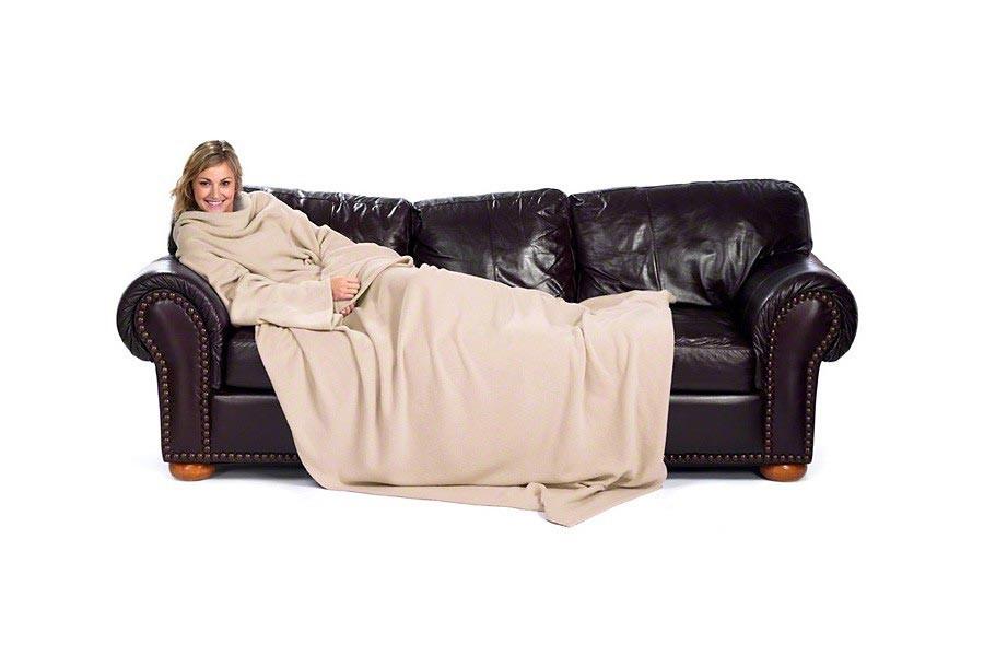 kuscheldecke mit rmeln rmeldecke in beige g nstig kaufen. Black Bedroom Furniture Sets. Home Design Ideas