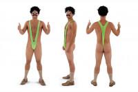 Borat Badeanzug - Mankini Anzug für Männer