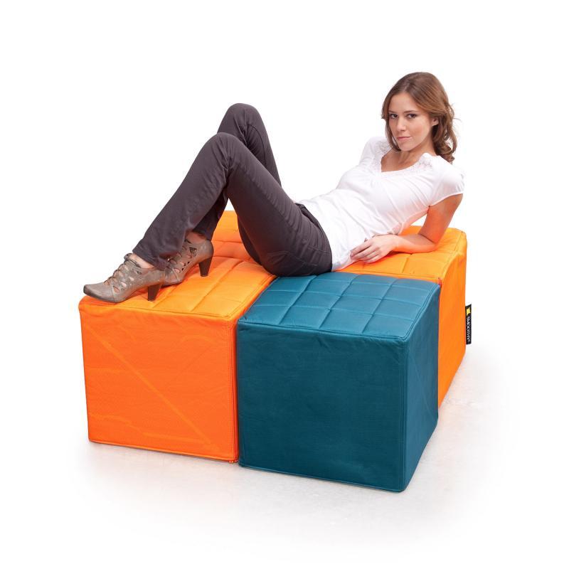 Cube Sitzwürfel Orange