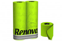 Grünes Toilettenpapier » 6 Rollen Renova Klopapier Grün