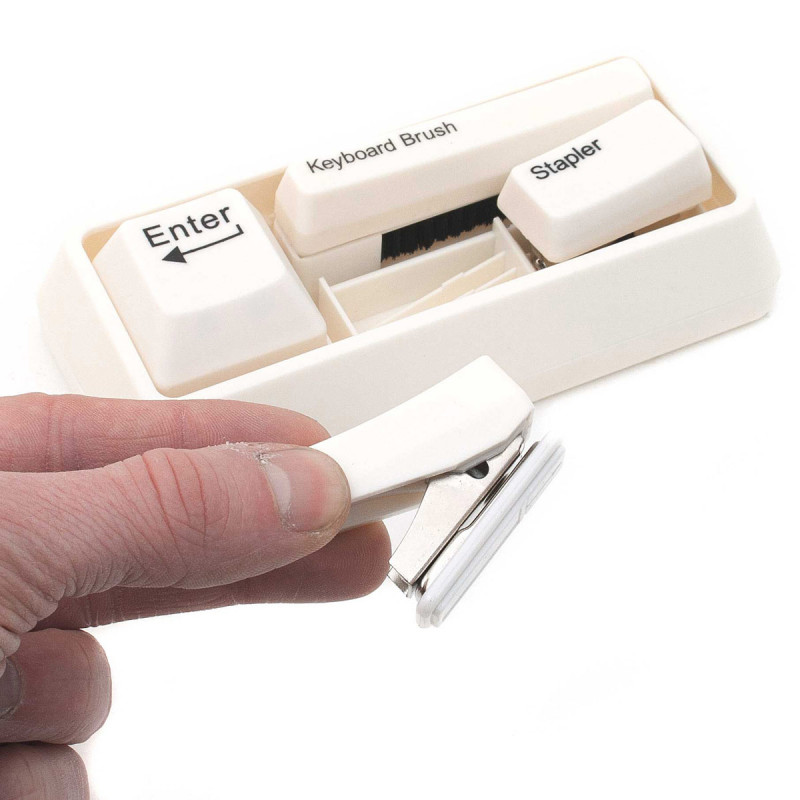 Schreibtischset im Keyboard Look