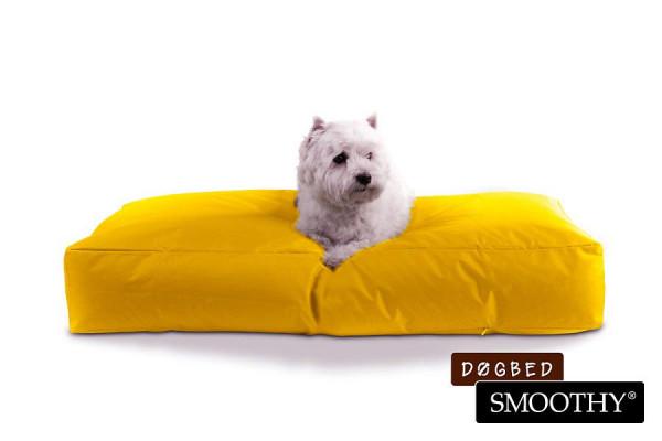Hundebett von Smoothy - Premium Hundekissen in Gelb