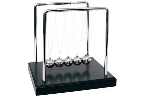 Newtonpendel: günstiges Kugelstoßpendel