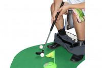 WC Golf Set Mini Klo Golf für die Toilette