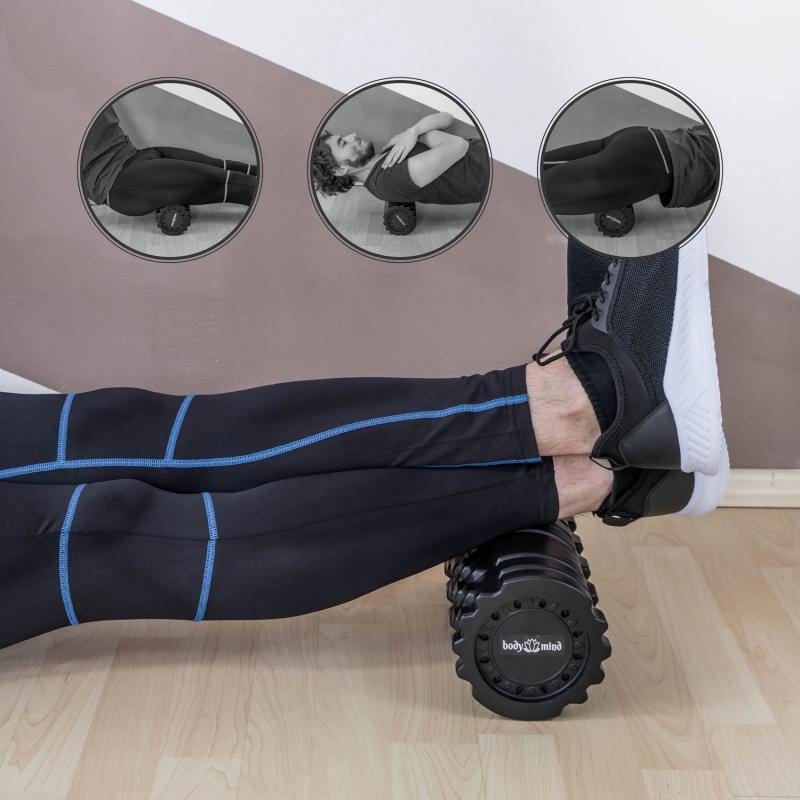 Body & Mind Vibrations Massagegerät für Faszein und Muskel Massage