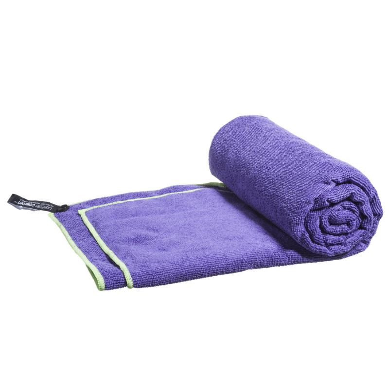 Mikrofaser Handtuch - Reisehandtuch 80x40 cm - Lila-Violett