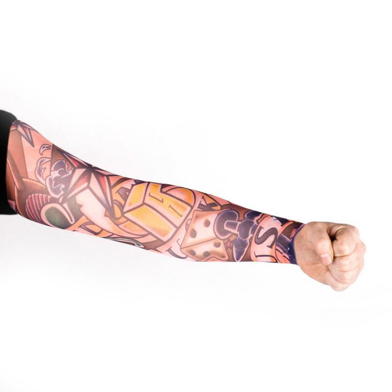 Tattoo Ärmel - Tattooärmel für Karneval & Party - Game Rockabilly