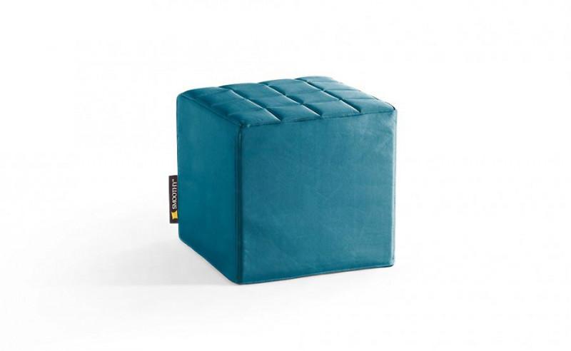 CUBE Sitzwürfel in Petrol-Blau