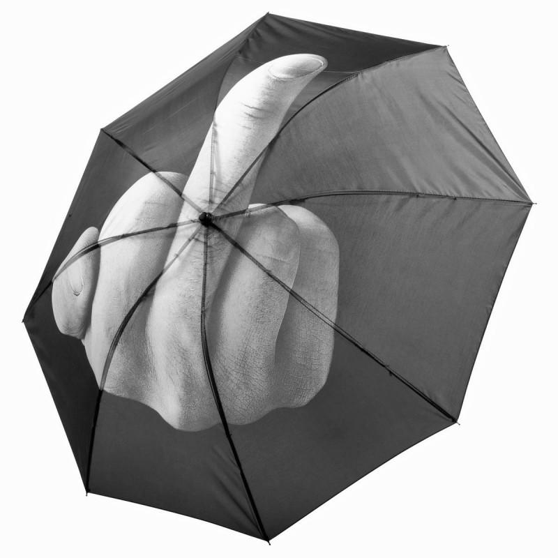 Stinkefinger Regenschirm