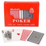 Pokerkarten - 2er Set Plastik Spielkarten für Poker - Geheimshop.de