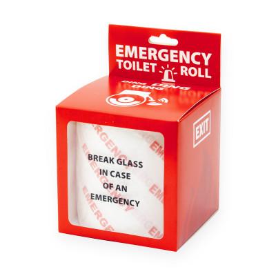 Toilettenpapier - Bedrucktes Klopapier - Emergency
