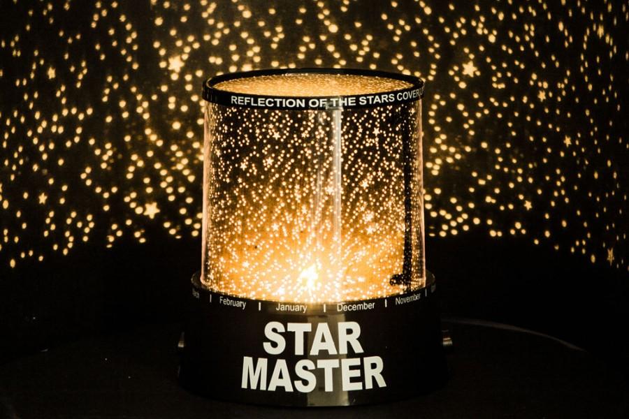 LED Sternenhimmel Projektor » Baby Einschlafhilfe Nachtlicht