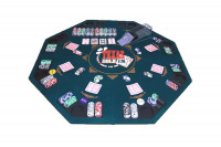 Pokerauflage klappbar - faltbare Pokertisch Auflage für Poker