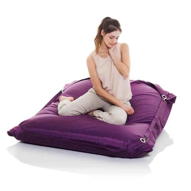 smoothy sitzsack sitzkissen outdoor supreme amethyst violett. Black Bedroom Furniture Sets. Home Design Ideas