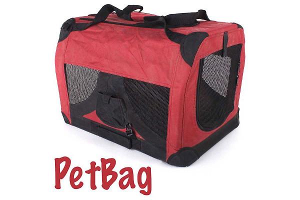 Faltbare Hundebox: Transportbox für Hunde Gr. M