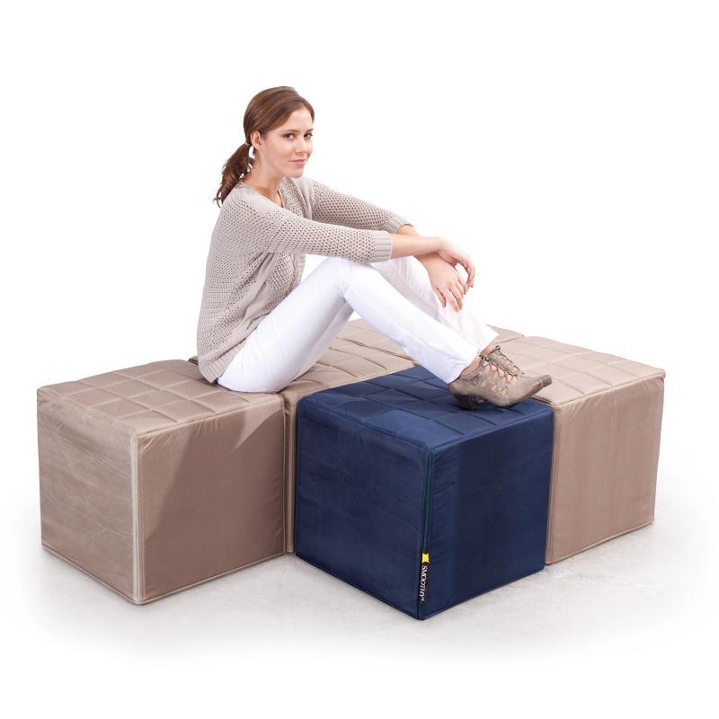 Cube Sitzwürfel Beige