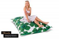 Smoothy Sitzsack - Sitzkissen Floralia - Grün-Grün