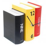 Buchuhr - originelle analoge Bücheruhr aus Pappe - Geheimshop.de