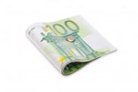 100 Euro Türstopper EUR Geldschein im